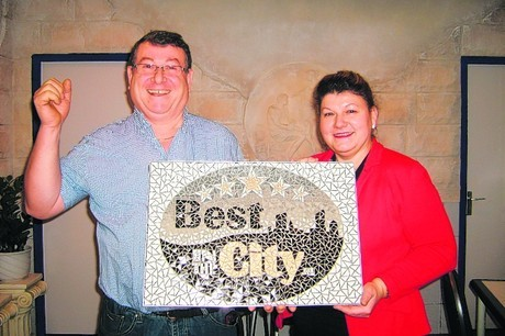 Uitreiking Best of the City Award 2012